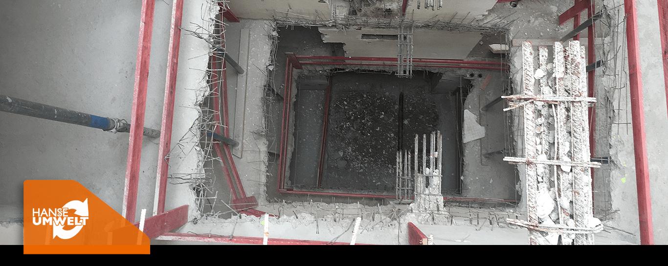 Entkernung Gebäude Gebäudeteile